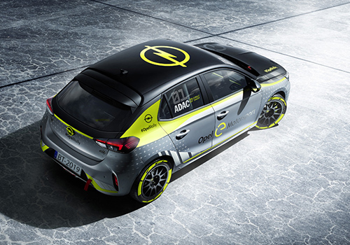 Nuevo Opel Corsa-e Rally tecnologia ecologico