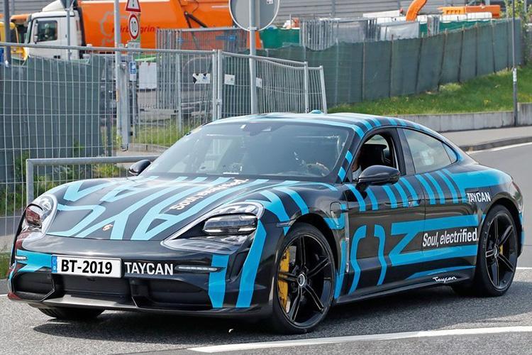 Nuevo Porsche Taycan prototype