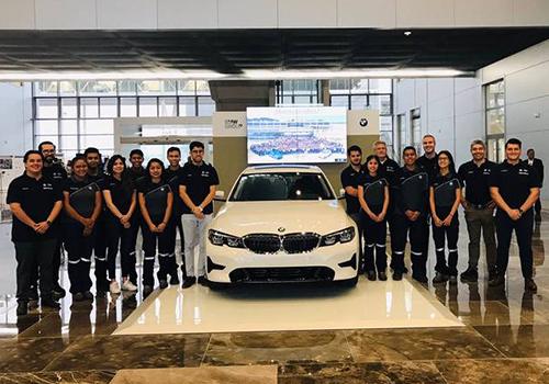 Nuevo equipo BMW en México