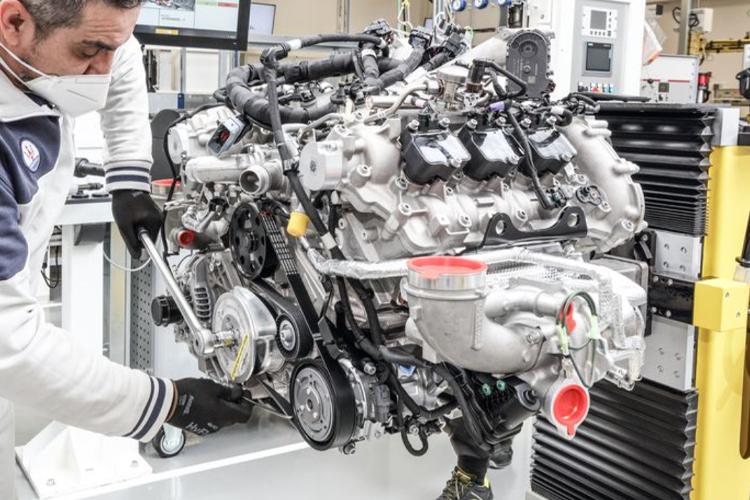 Nuevo motor Nettuno de Maserati hereda la tecnología de los Fórmula 1 diseño rendimiento fabricación a mano