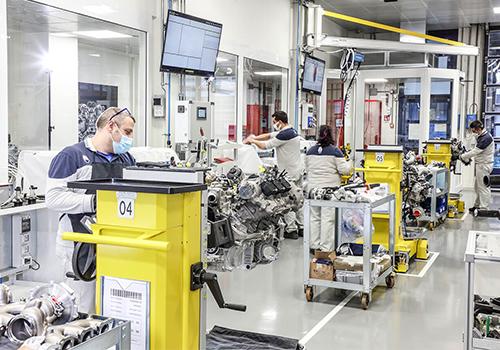Maserati hereda la tecnología de los Fórmula 1 fabricación Engine Lab