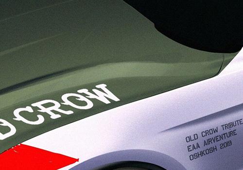 MUSTANG GT Edición Tributo Old Crow Mustang GT en Subasta para recaudar fondos