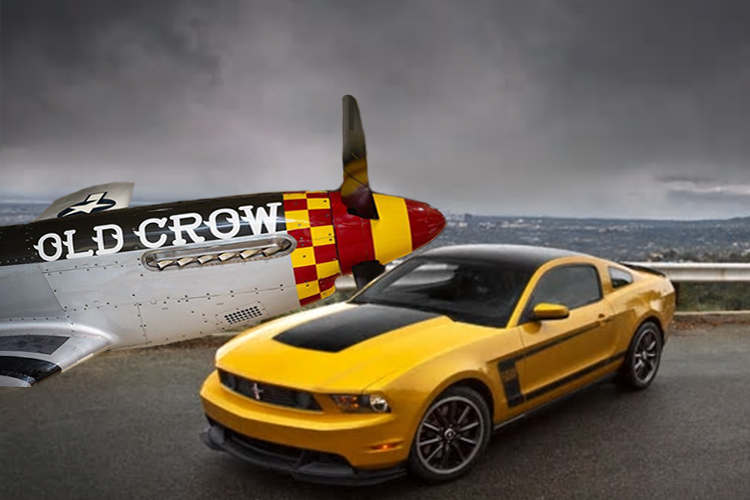 Old Crow Mustang GT