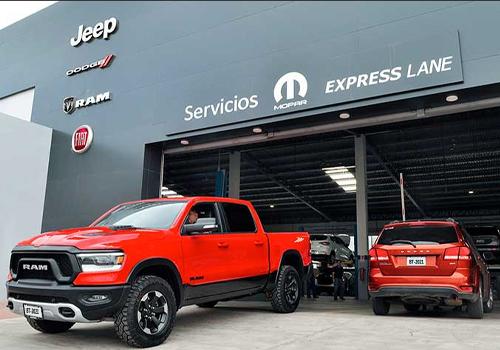 servicio express de Mopar autos modelos