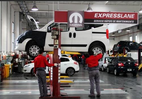 servicio express de Mopar precios taller servicio