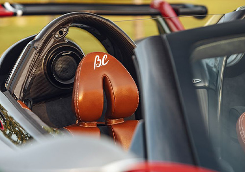 Roadster modelo exclusivo
