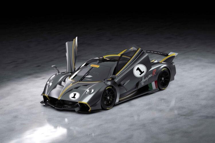 Pagani Huayra R hypercar chasis monocasco de fibra de carbono y titanio