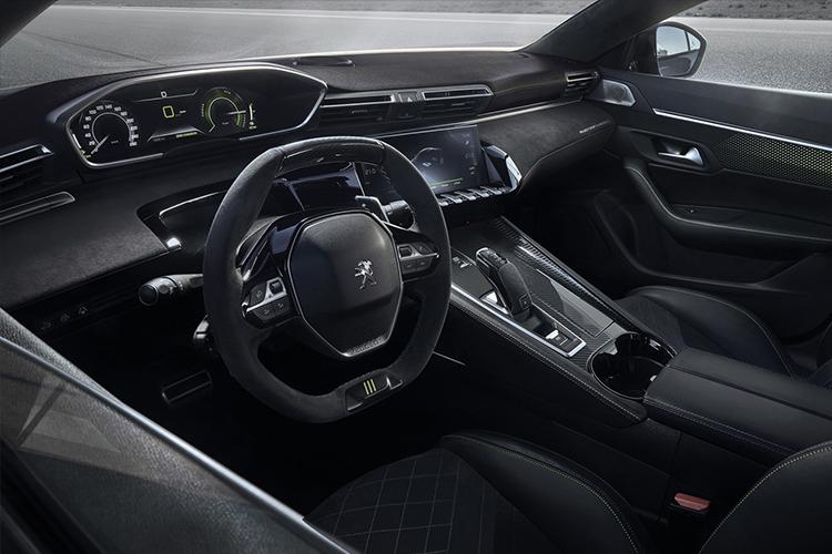 Peugeot 508 Sport Engineered tecnología