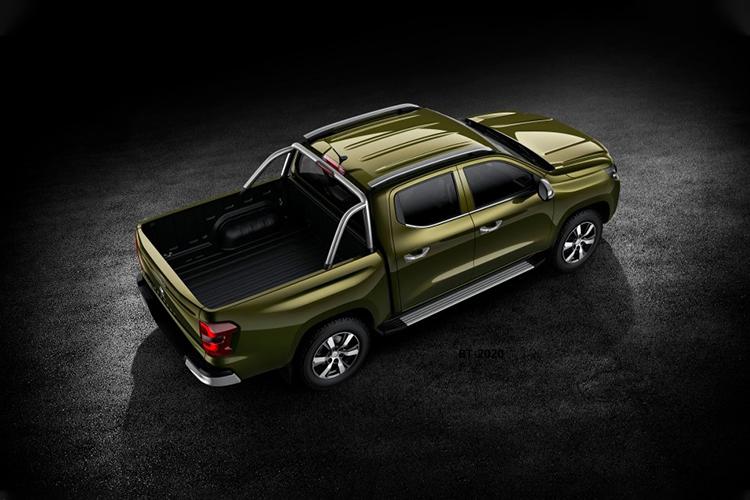 Peugeot Landtrek espacio en cajuela capacidad de carga
