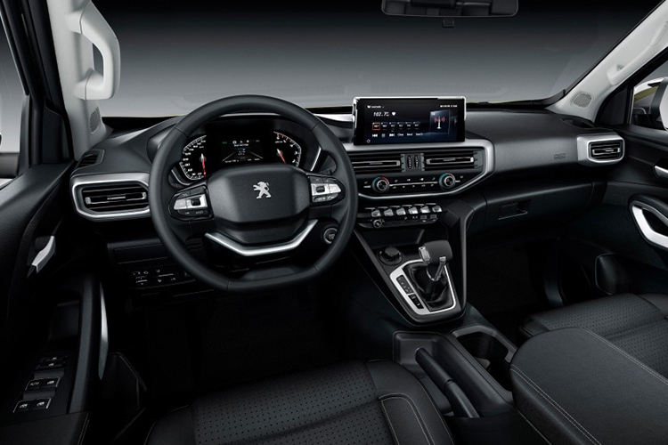 Peugeot Landtrek pick-up sistema de infoentretenimiento