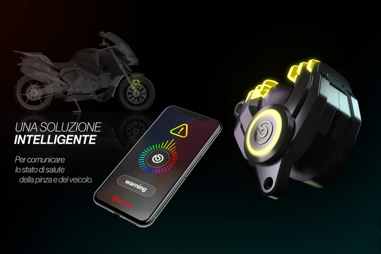 Pinzas de freno Brembo New G Sessanta prototipo solución innovaciones tecnología
