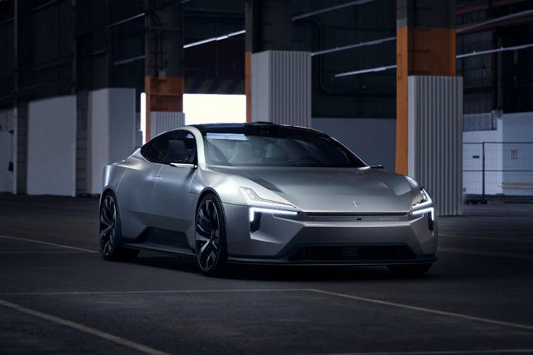Polestar Precept Concept carrocería diseño