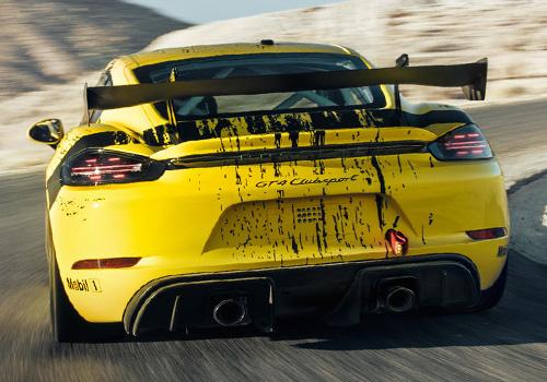 Porsche 718 Cayman GT4 Clubsport 425 hp