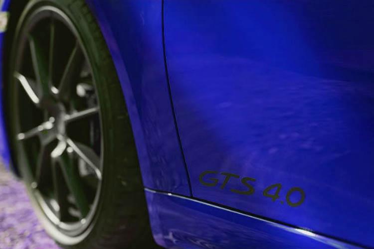 4.0 y Boxster GTS 4.0 llantas de 21 pulgadas