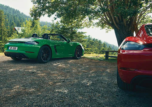 Porsche 718 Cayman GTS 4.0 y Boxster GTS 4.0 tecnología innovaciones motor