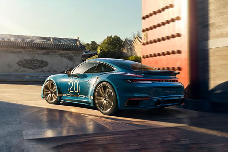 Porsche 911 20 aniversario edición especial biplaza deportivo