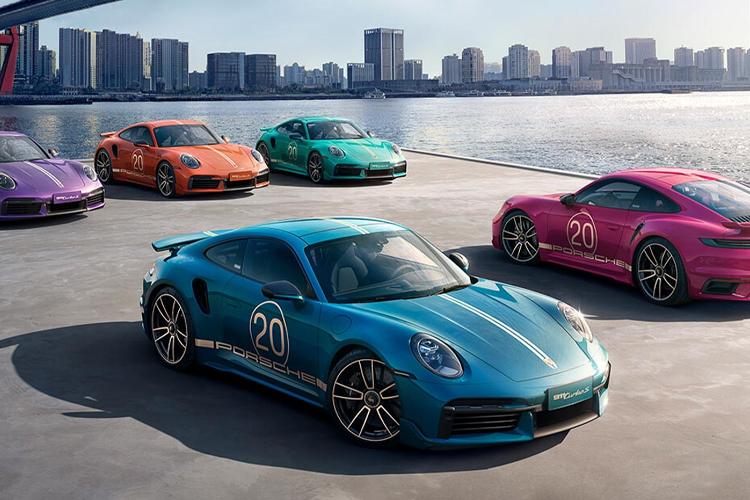 Porsche 911 Turbo S  20 aniversario edición especial diseño tecnología innovaciones