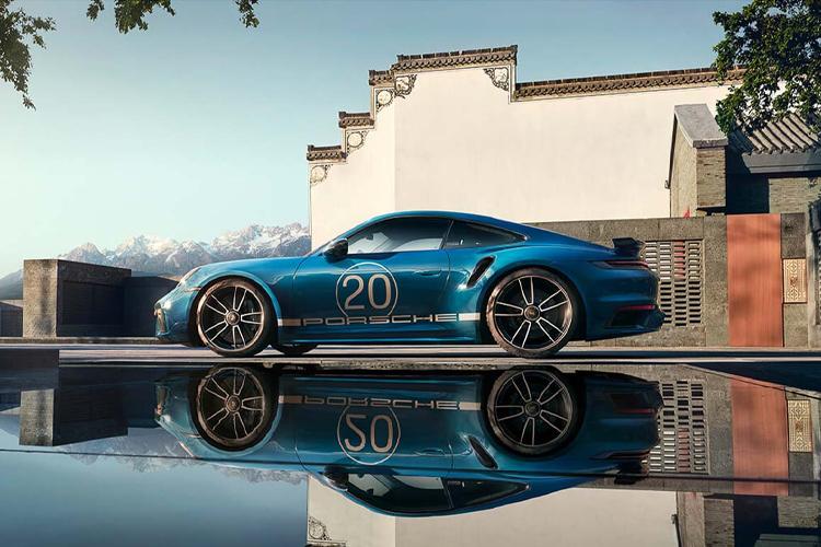 Porsche 911 Turbo S 20 aniversario edición especial potencia equipamiento