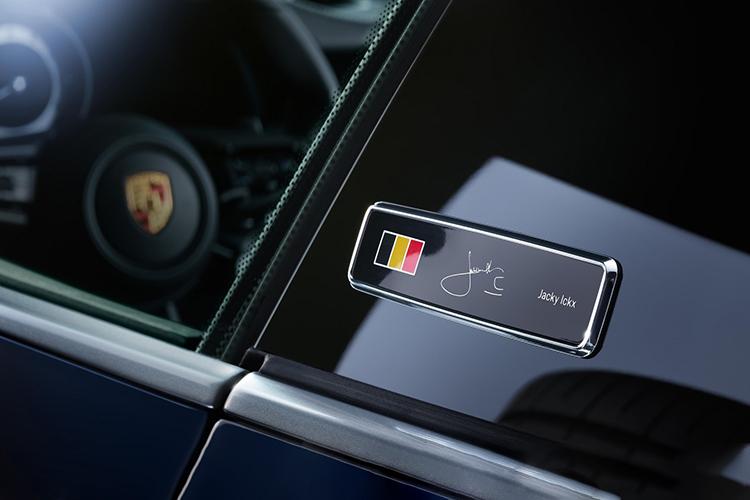 Porsche 911 Belgian Legend edición especial 75 unidades para Bélgica