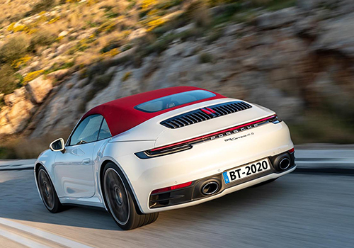 Porsche 911 Carrera S y 4S motor