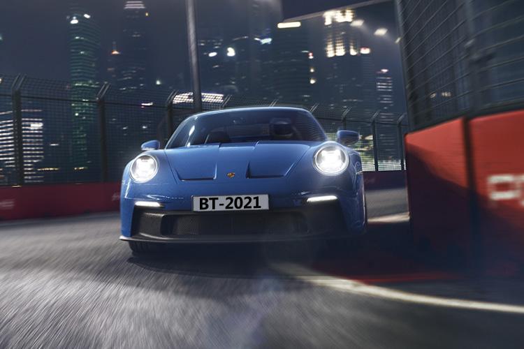 Porsche 911 GT3 rediseñado 2021 biplaza deportividad