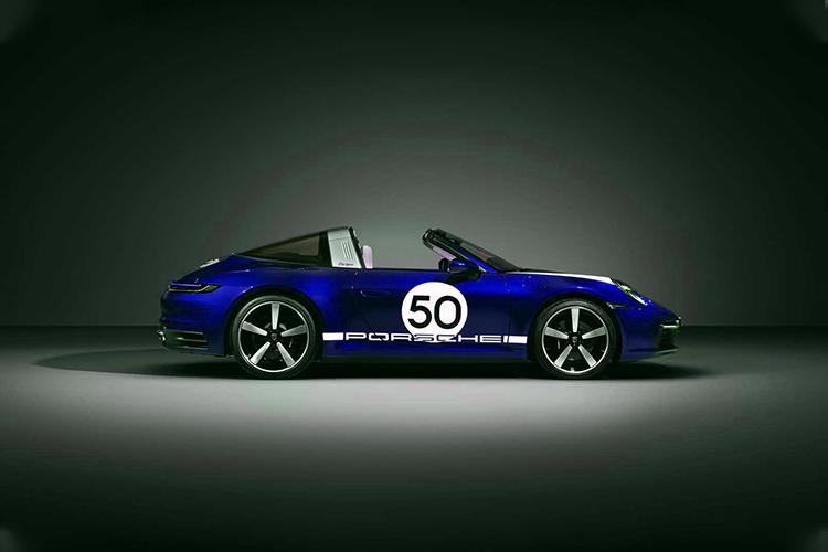 Porsche 911 Targa 4S Heritage Design diseño exclusivo