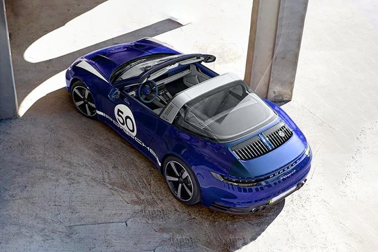 Porsche 911 Targa 4S Heritage Design edición especial unidades limitadas