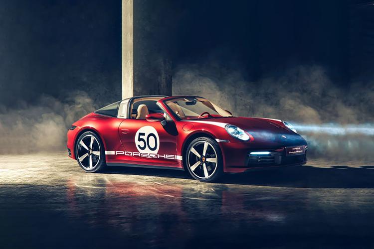 Porsche 911 Targa 4S Heritage Design tecnología
