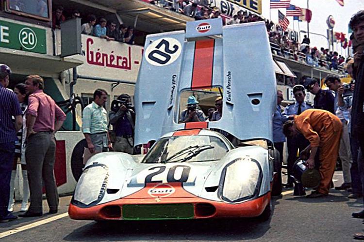 Porsche 917 Gulf campeon 1970