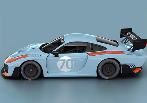 Porsche 935 Gulf edicion tributo