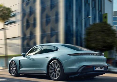 Porsche Taycan 4S LED innovaciones