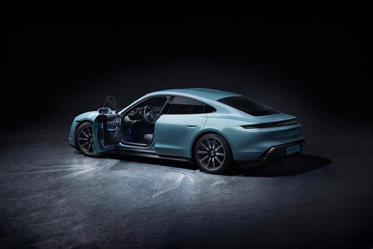 Porsche Taycan 4S entregas 2020