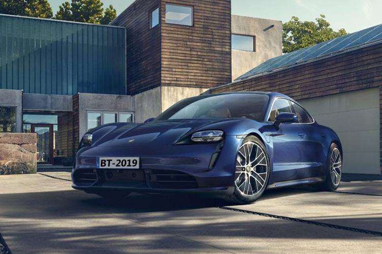 Porsche Taycan Turbo eléctrico velocidad