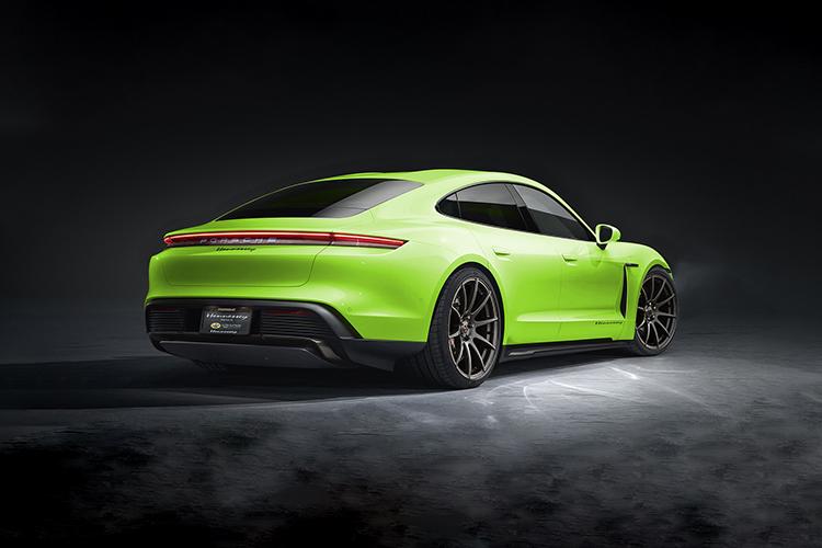 Porsche Taycan by Hennessey