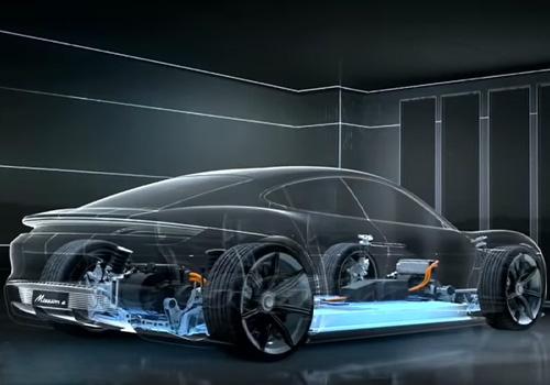 Porsche Taycan con asientos más cómodos