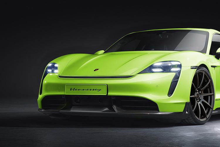 Porsche Taycan modificado por Hennessey