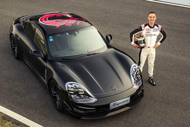 prototype en Circuito de Porsche Experience Center de Shangai