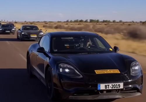 Porsche Taycan tendrá 3 versiones disponibles