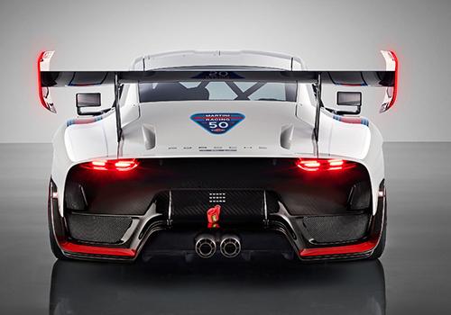 Porsche edicion tributo con 7 decoraciones disponibles