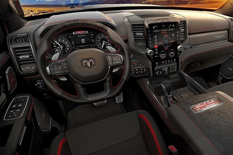RAM 1500 TRX interior
