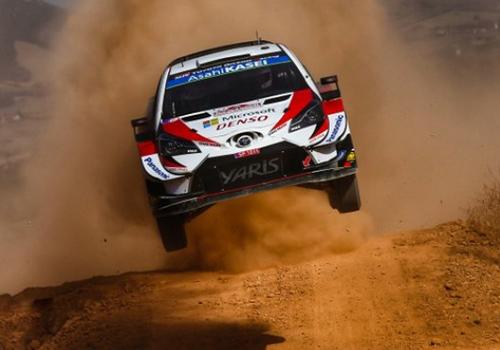 Toyota Yaris WRC competencia rally