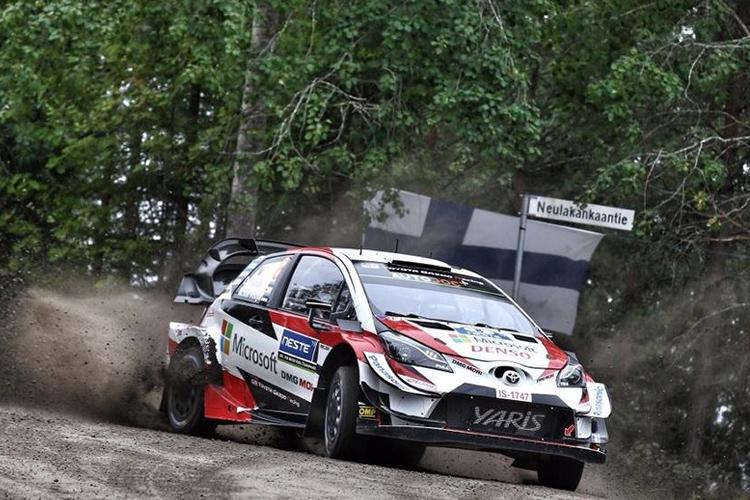 Rally Finlandia 2019 Toyota Yaris WRC construido en Finlandia