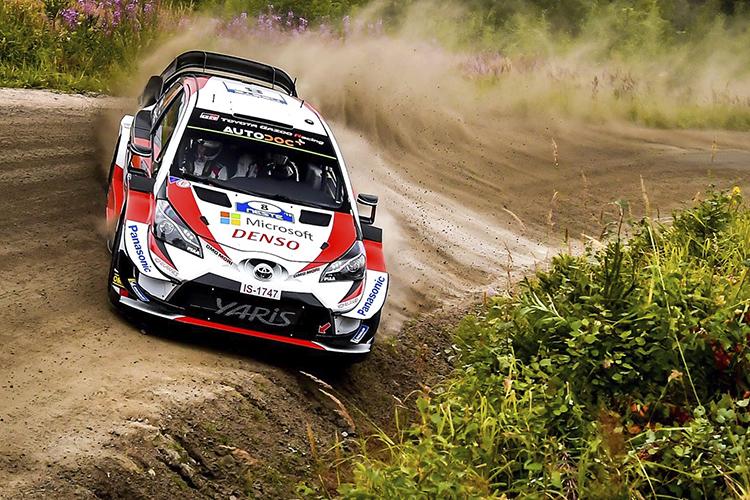 Toyota Yaris WRC curvas 1000 lagos