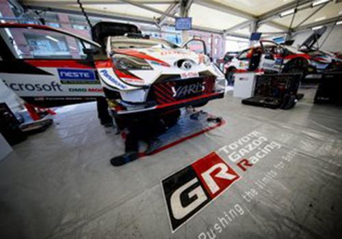 Toyota Yaris WRC pruebas