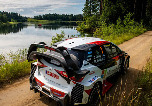 Rally Finlandia 2019 Toyota Yaris WRC ra