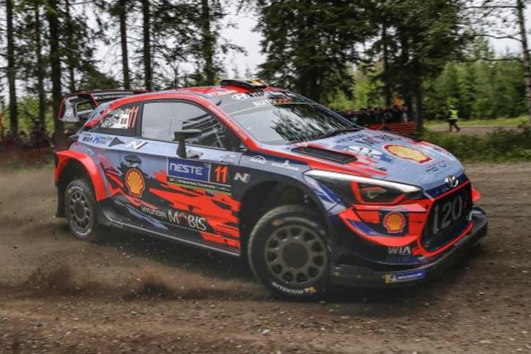 Rally Finlandia 2019 hyundai i20