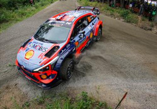 Rally Finlandia 2019 vehiculo curvas