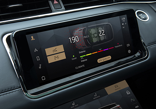 Range Rover Evoque 2021 sistema de infoentretenimiento