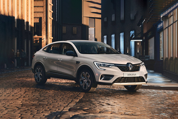 Renault Arkana equipamiento
