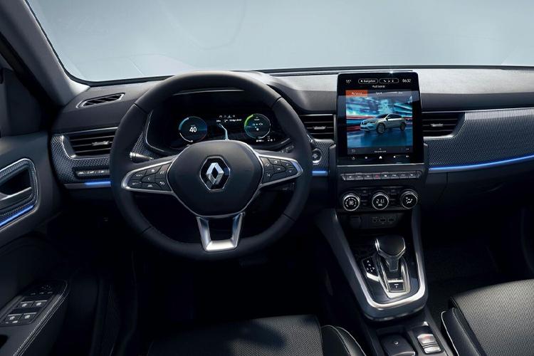Renault Arkana sistema de infoentretenimiento